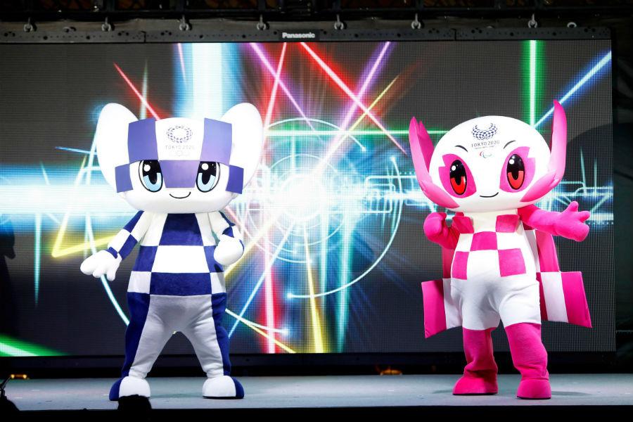 Le mascotte di Tokyo 2020