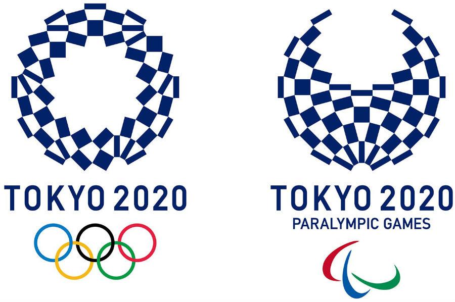 I loghi ufficiali delle Olimpiadi e Paralimpiadi di Tokyo 2020