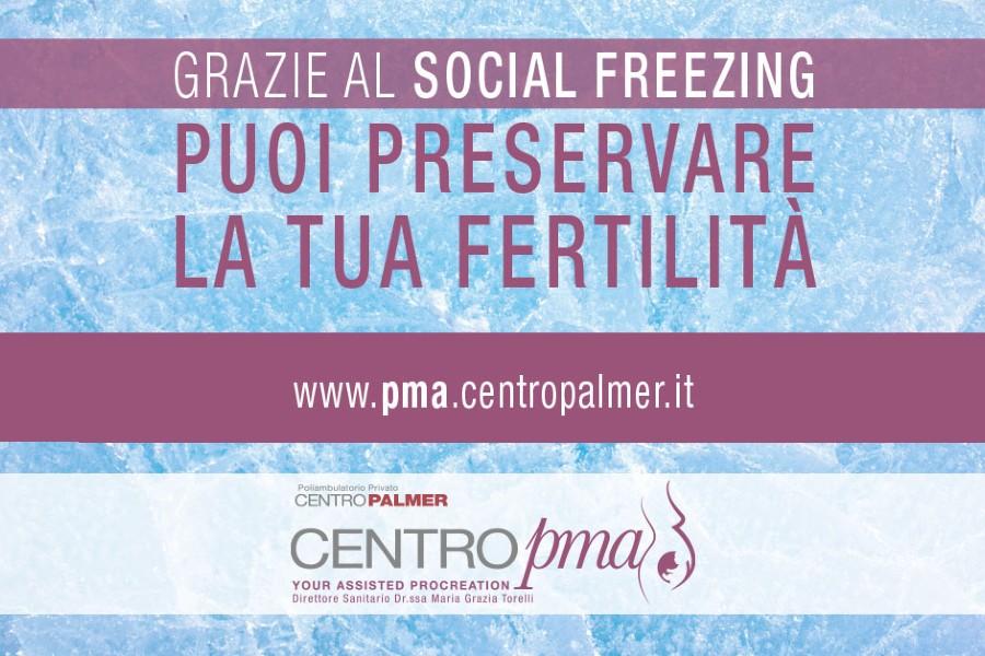 campagna informativa su social freezing e pma a cura del Centro Palmer