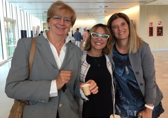 """Irma Banti, Alessandra Citarella e Silvia Conti: il team Multidisciplinare di Gedeon Richter per il progetto """"Il Momento Giusto"""""""