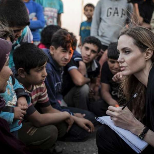 Angelina Jolie- Photo Courtesy: UNHCR