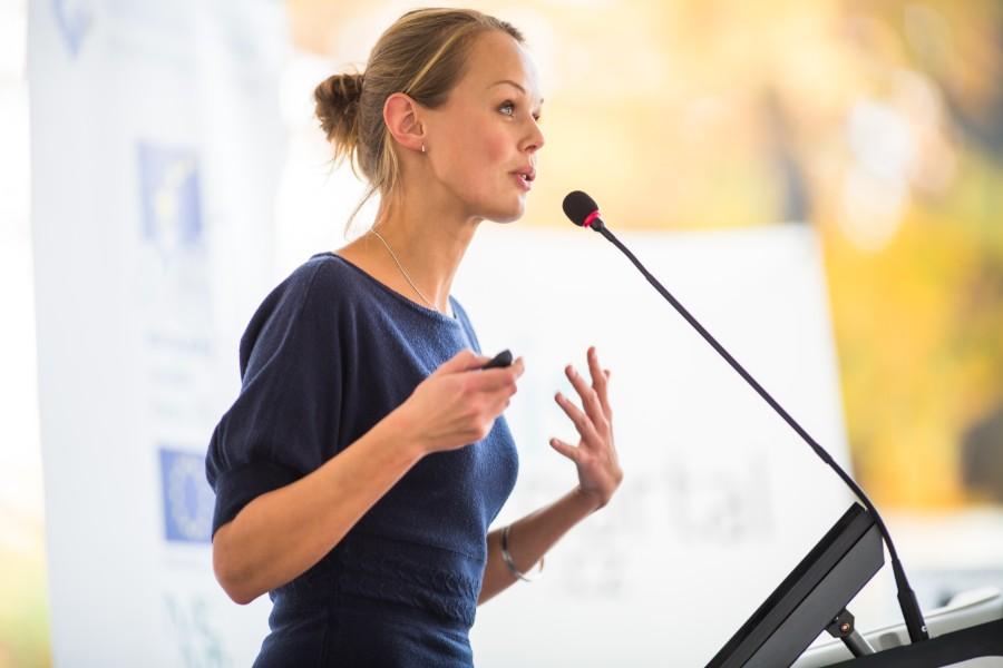 speech impegno sociale concept