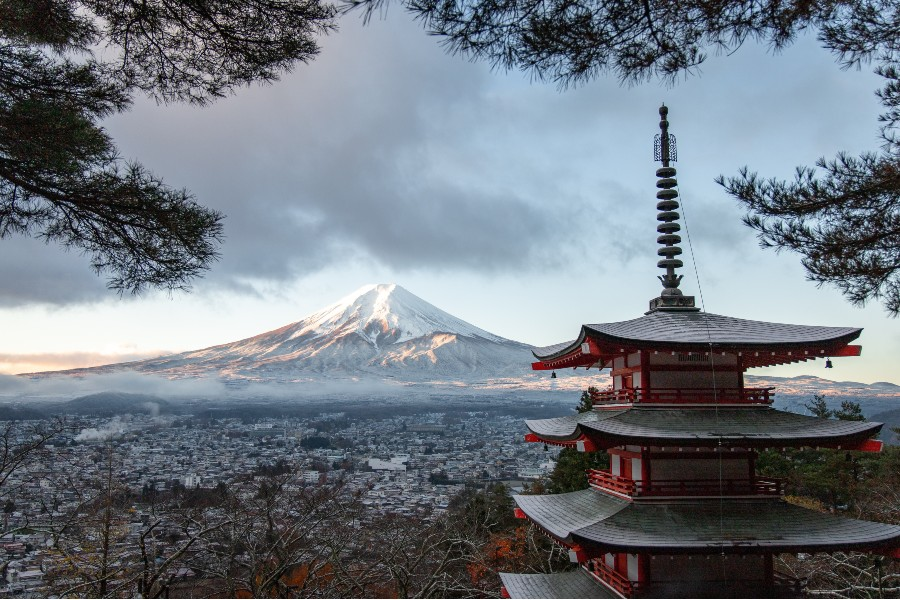 Luoghi da visitare almeno una volta nella vita: scorcio giapponese - Foto di Tomáš Malík da Pexels