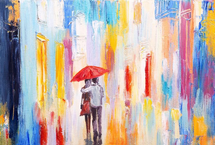 Regali di coppia per San Valentino: un dipinto personalizzato che ritrae un momento felice vissuto insieme
